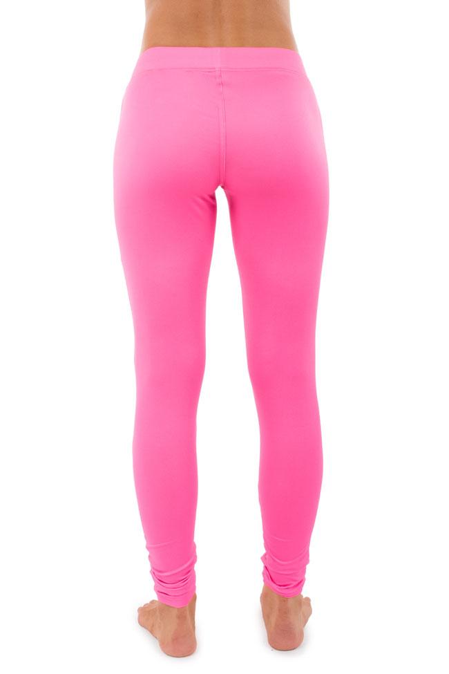 pink leggings pink neon leggings | tipsy elves
