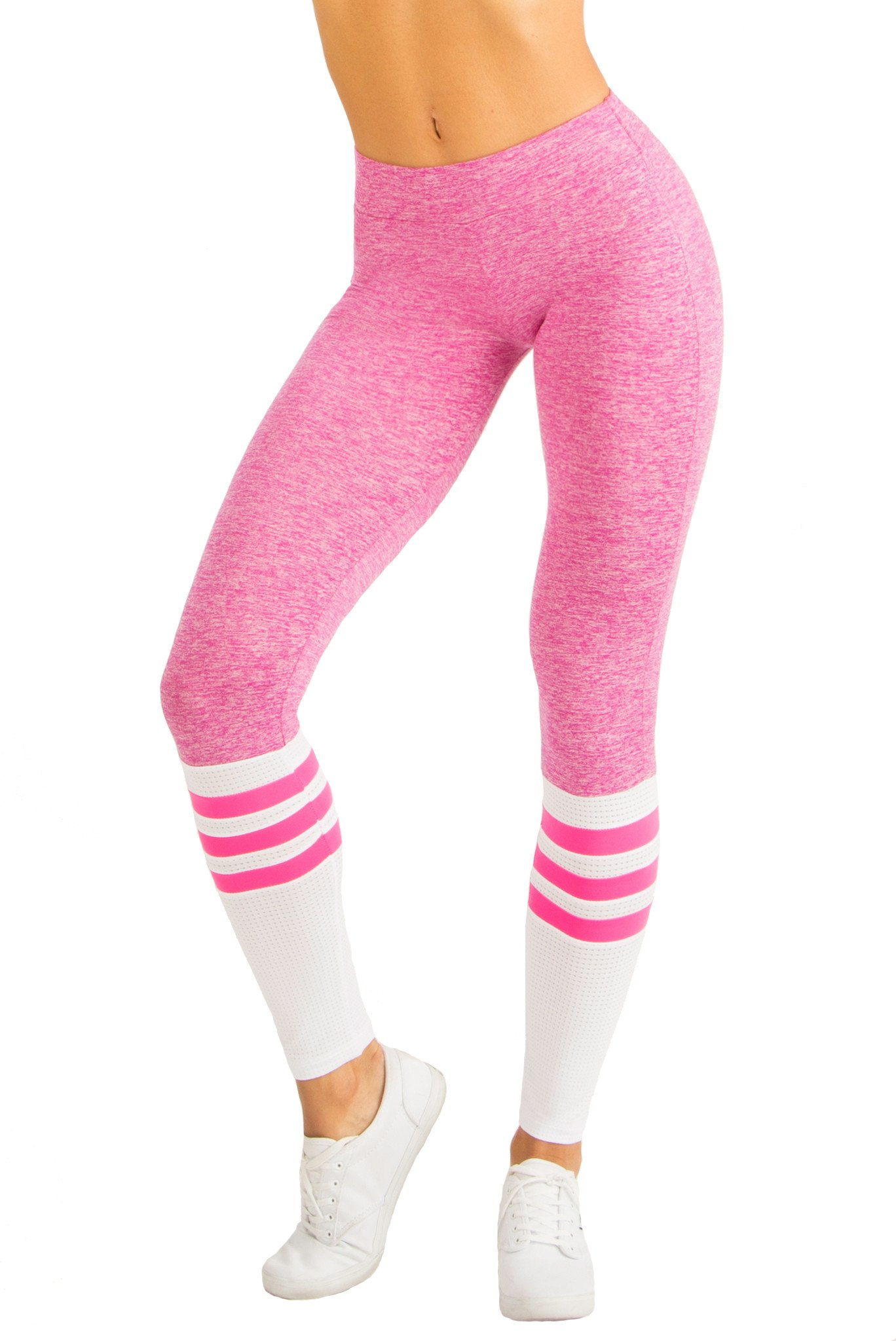 pink leggings sock leggings - pink bstasjs