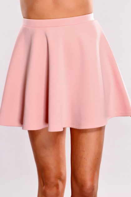 pink skirt pink high waist skater skirt @ amiclubwear clothing skirts online  store:long skirt,mini vqvpaxj