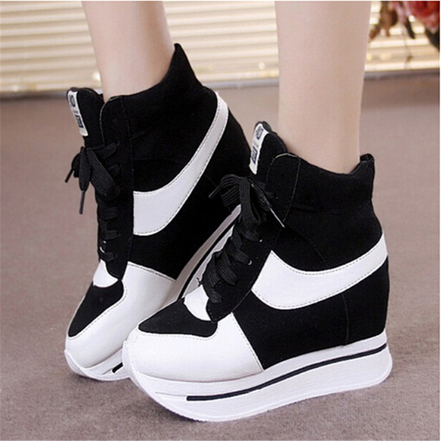 platform shoes for women spring autumn platform sneakers women shoes girls high-top sneakers for  women sport dnhwkpd