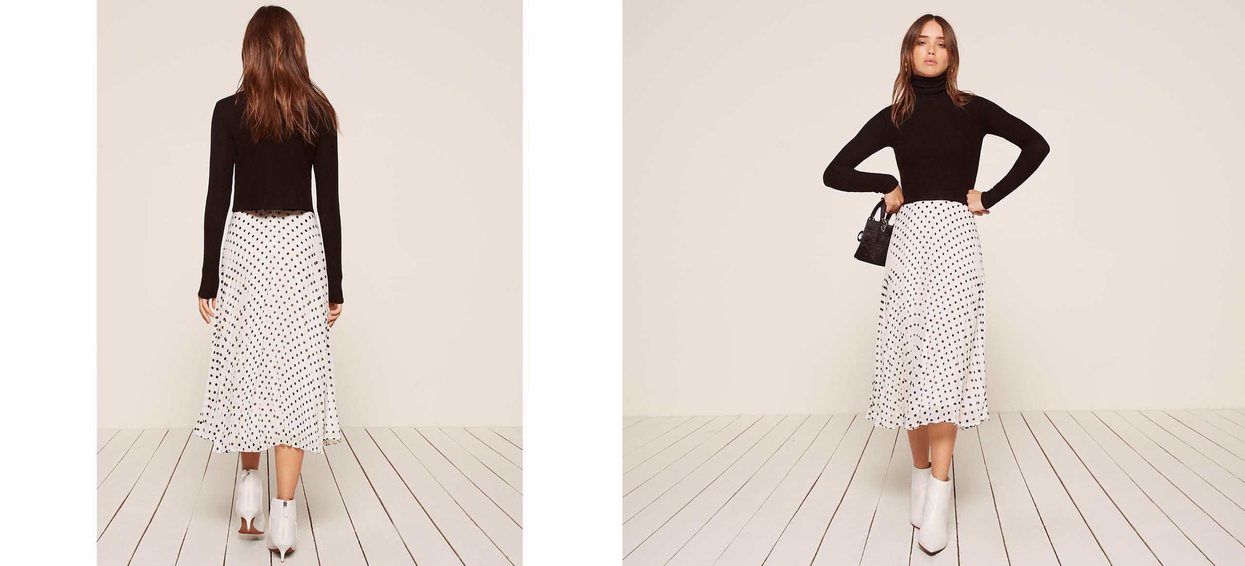 pleated skirt bcnxeau