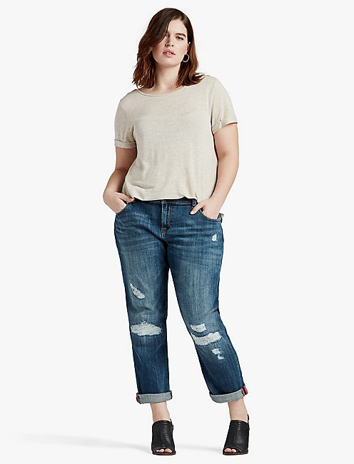 plus size boyfriend jeans 410 lucky reese boyfriend tevzldl
