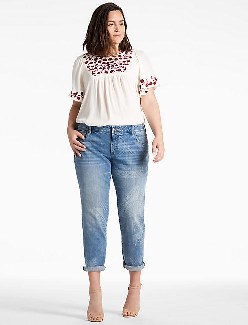 plus size boyfriend jeans | lucky brand wvdxnny