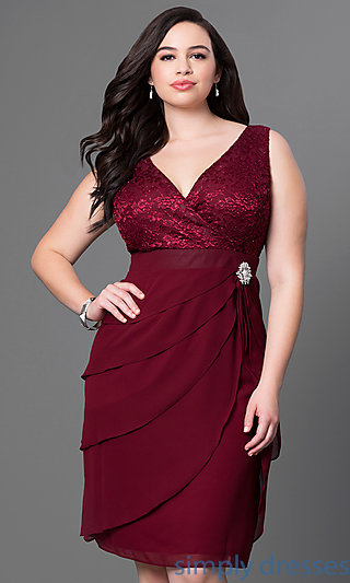 plus size formal dresses cheap plus-size burgundy party dress with bolero . xdqsiwh
