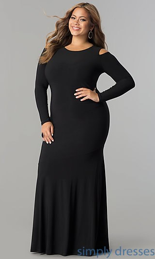 plus size formal dresses plus-size cold-shoulder long formal evening dress . cewqtkg