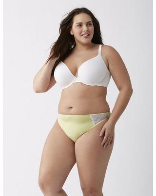 plus size panties cacique plus size dazzler thong panty with lace, womenu0027s, size: 14/16 oimtacq