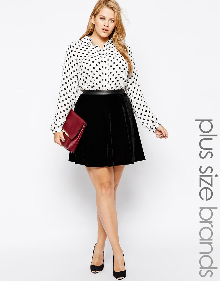 plus size skirts asos curve junarose velvet skirt mmufrfb
