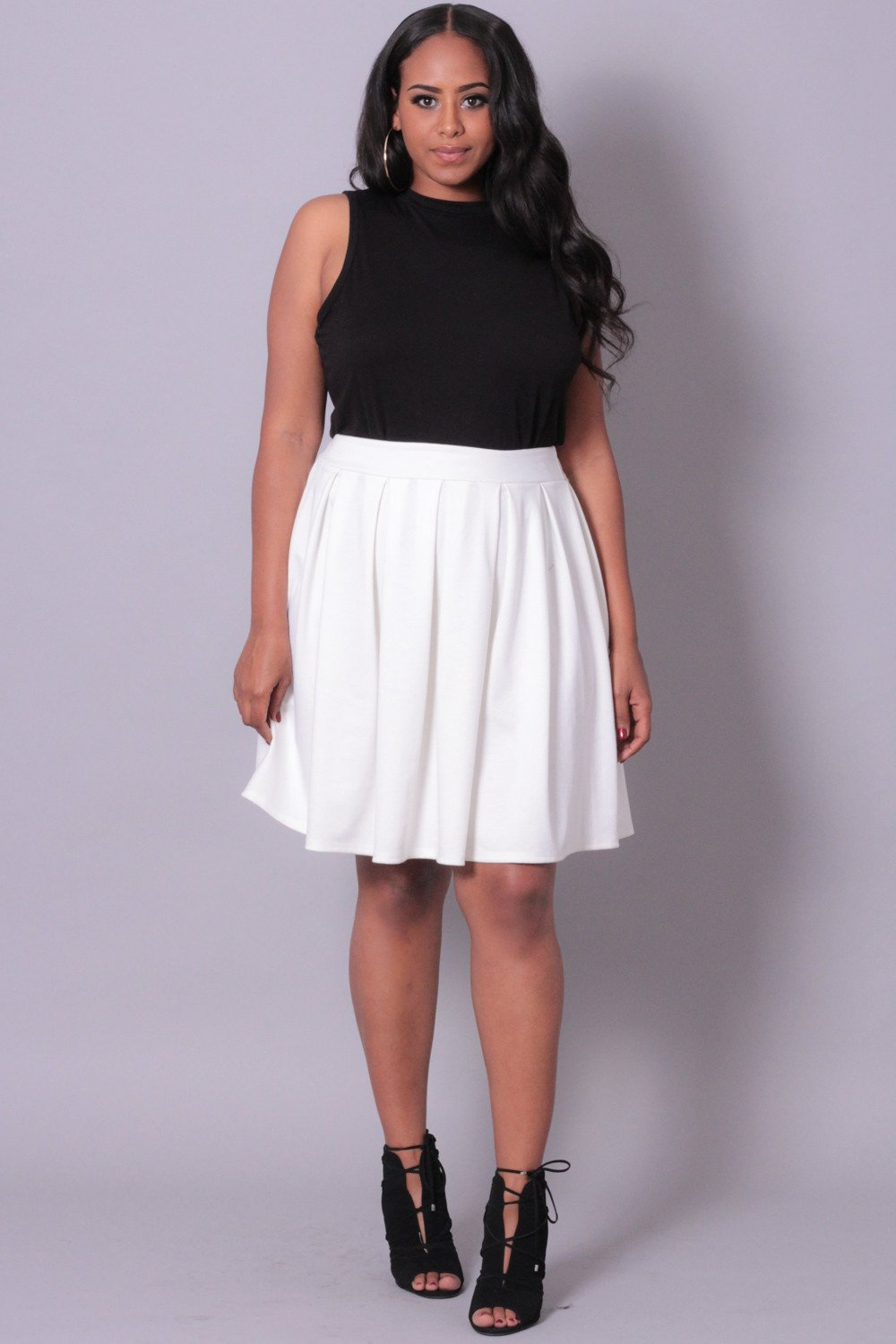 plus size skirts curvy sense | plus size clothing -plus_size_womens- plus size pleated skirt  - nmqverw