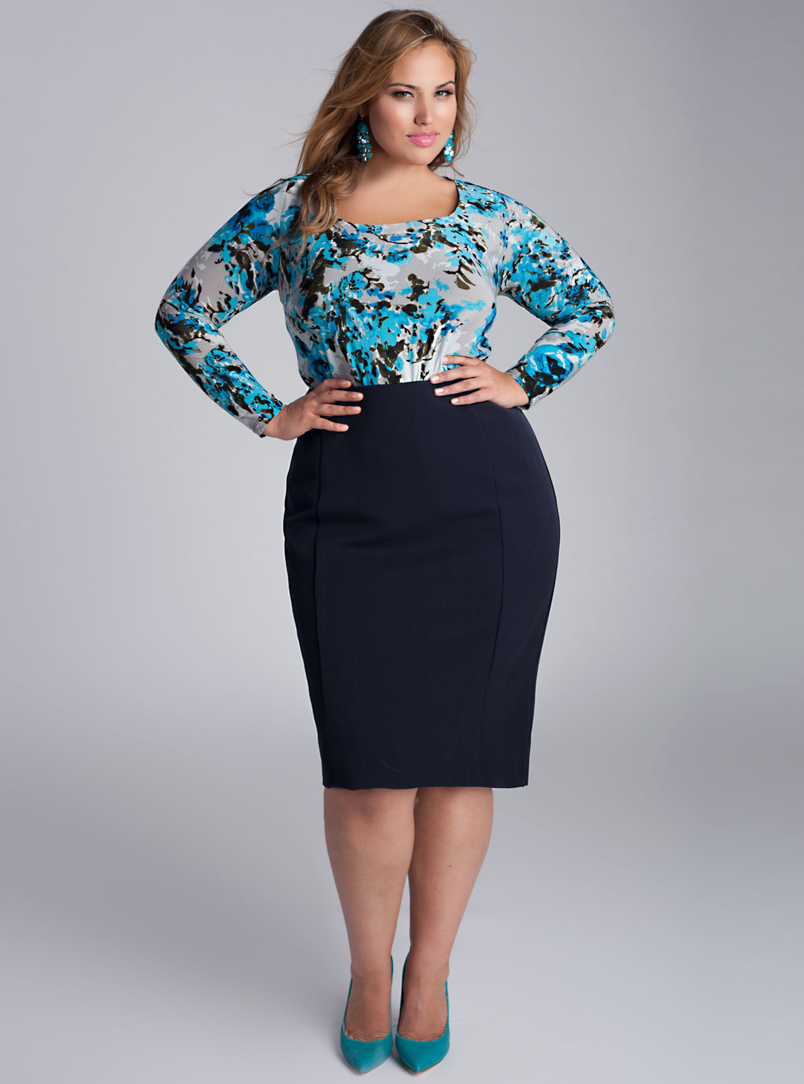 Plus Size Skirts: Look Perfect