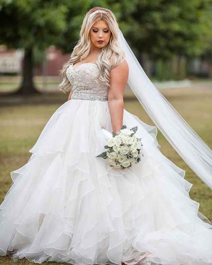 Plus Size Wedding dress: Pick the best one today ...
