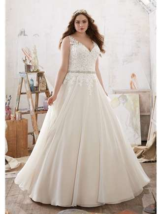 plus size wedding dress julietta ... zwdkmsq