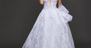 pnina tornai wedding dresses ... romantic ball gown wedding dress by pnina tornai - image 1 zoomed cpydssp