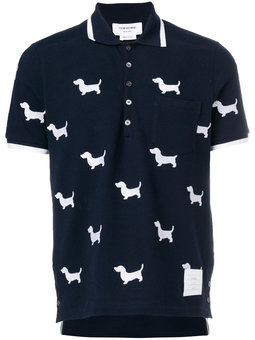 polo shirts thom browne x colette hector polo shirt vlphvye