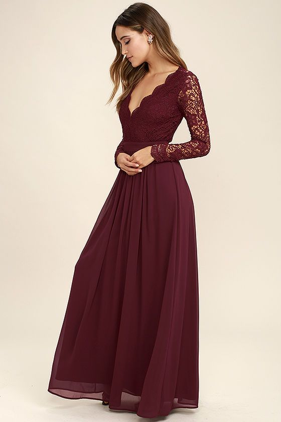 Dress to impress with the prom dresses with sleeve