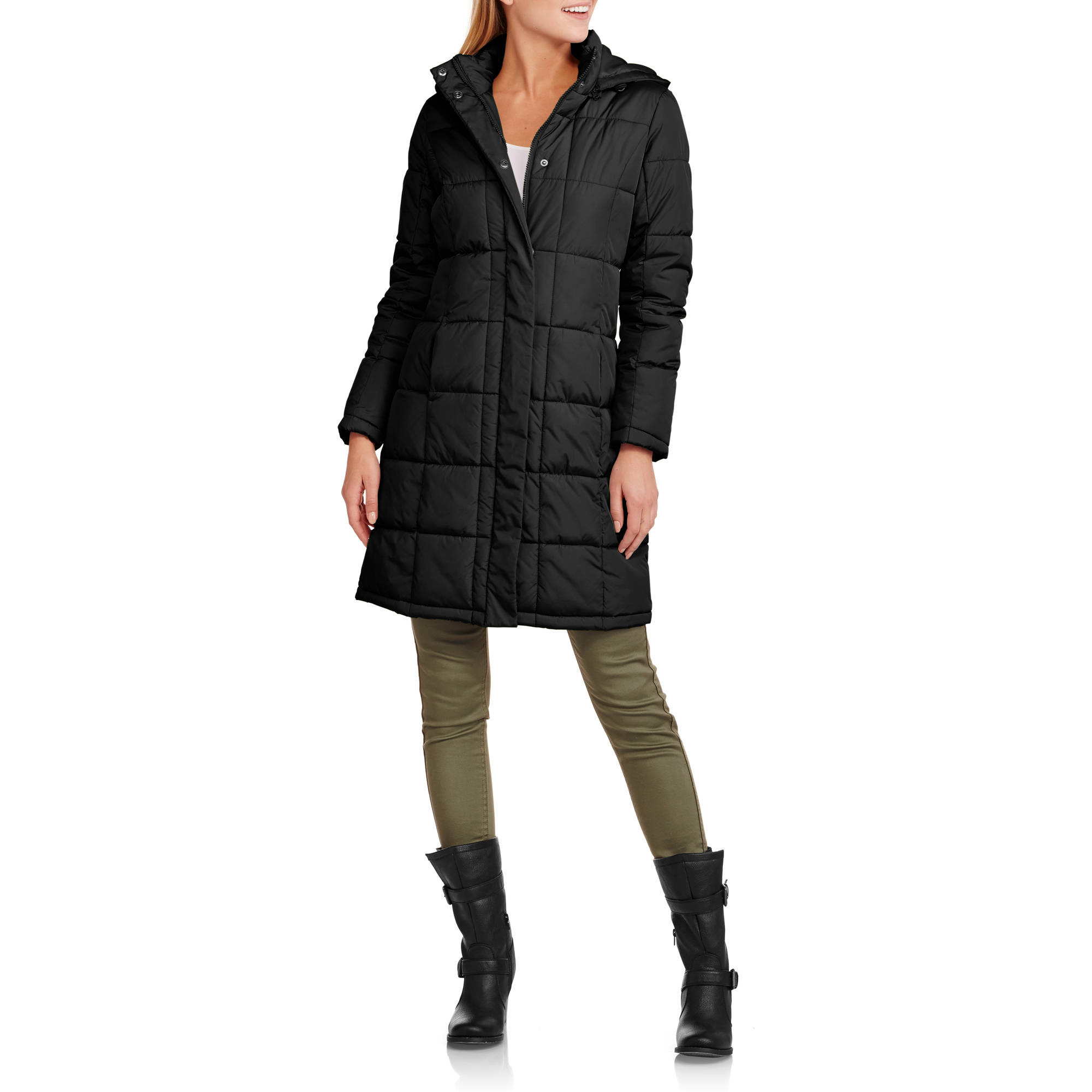 Puffer jacket for women