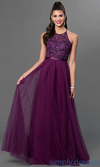 purple dress long sleeveless purple mori lee dress . goswylu