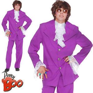 purple suit image is loading austin-powers-sixties-purple-suit-mens-fancy-dress- mvqoifk