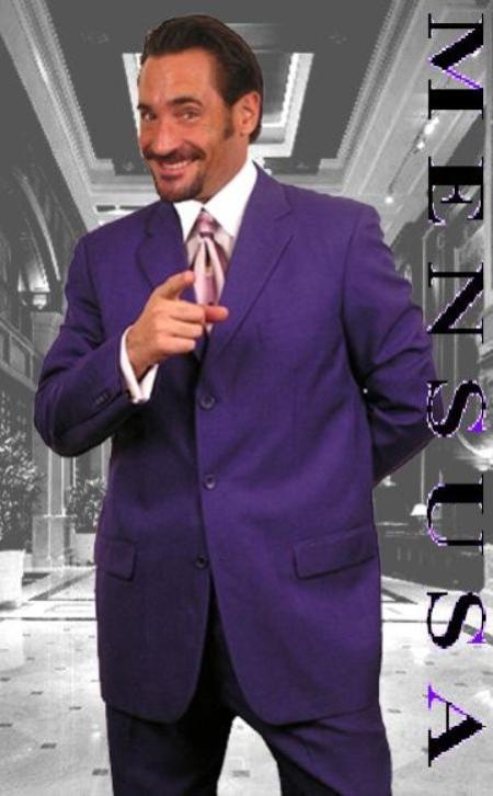 purple suit sku# zs77 purple single breasted 3 button men dress suits rnkwxaq