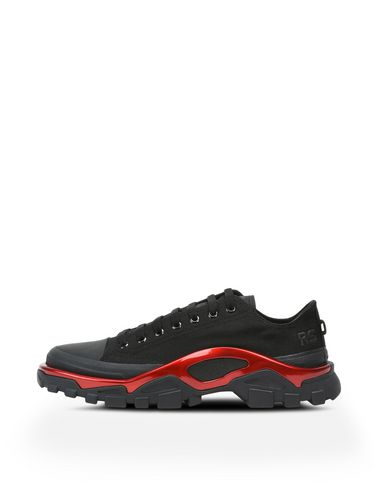 raf simons sneakers raf simons detroit runner sneakers in black | adidas y-3 official store qrtkofs