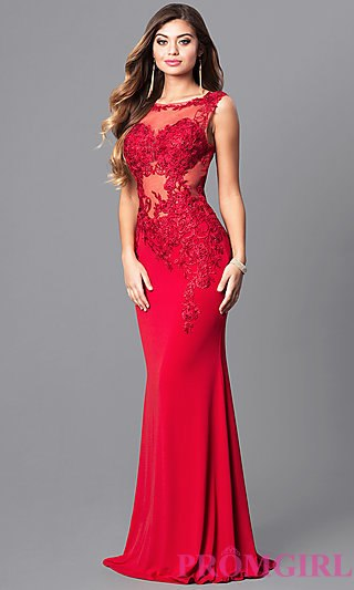 red prom dresses jvnx by jovani red prom dress with lace - promgirl ngphsax