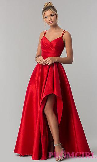 red prom dresses loved! gwnigyr