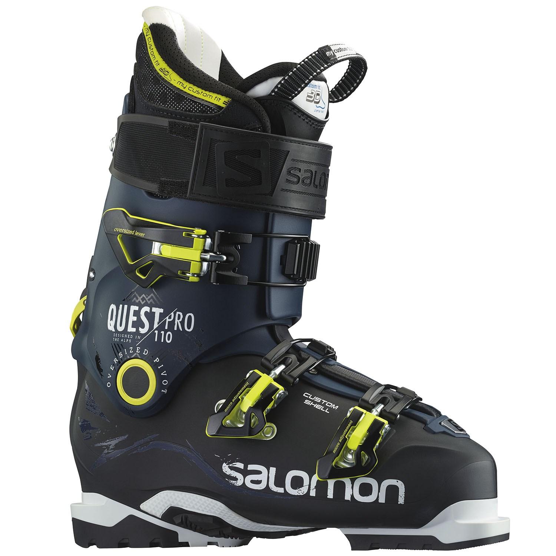 salomon ski boots salomon quest pro 110 ski boots 2016 | evo uhwfowo