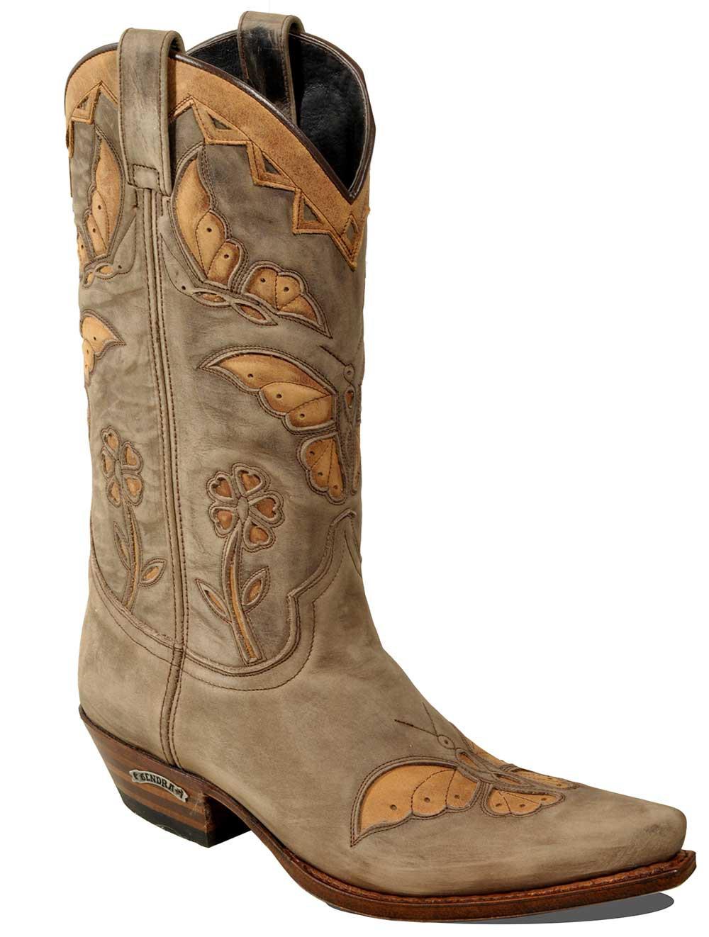 sendra boots 12969 dark taube ndyqmze