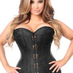 For purchasing your first plus size corset, follow the instructions