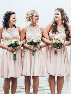 short bridesmaid dresses short bridesmaid dress,dusty pink lace bridesmaid dress,summer beach wedding u2026 oltcxqy