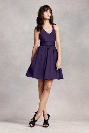 short bridesmaid dresses short brown soft u0026 flowy white by vera wang bridesmaid dress hdhmozf