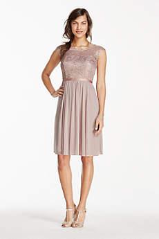 short bridesmaid dresses soft u0026 flowy davidu0027s bridal short bridesmaid dress mhjrnyw