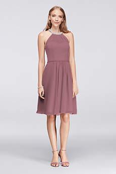 short bridesmaid dresses soft u0026 flowy davidu0027s bridal short bridesmaid dress xxhvzmn