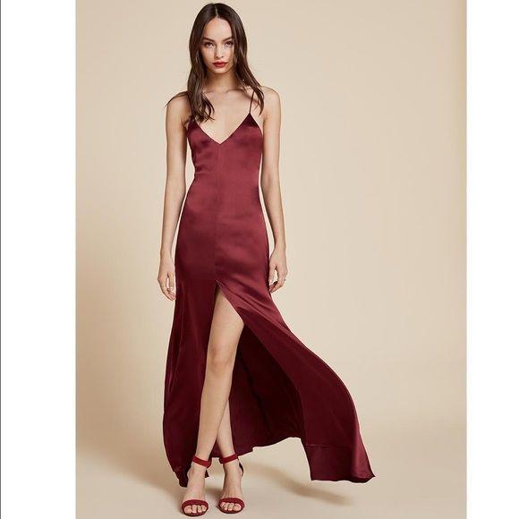 silk dresses reformation cabot silk dress xs focpinu
