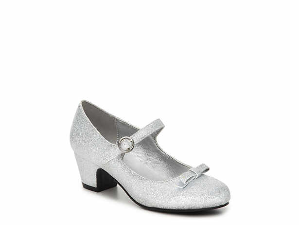 silver dress shoes ferry toddler u0026 youth mary jane pump hkhlaab