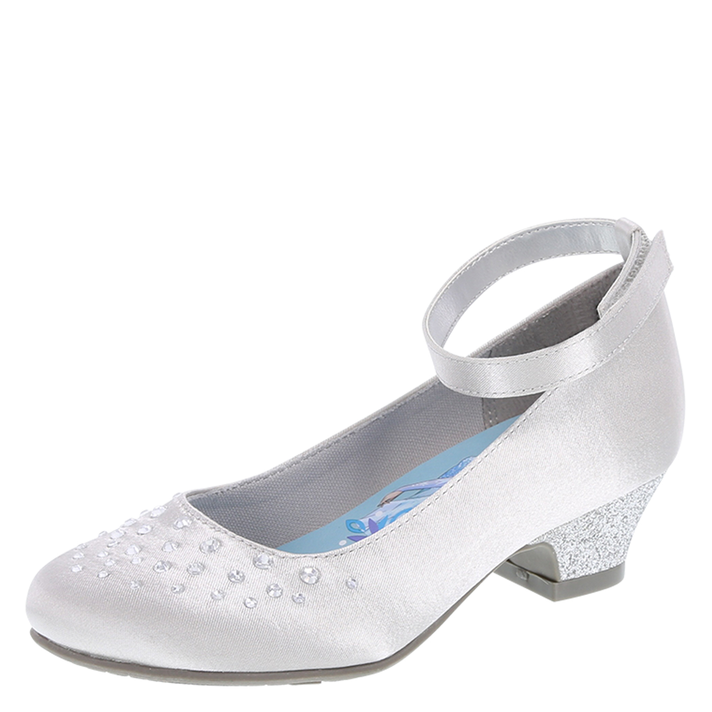 silver dress shoes girlsu0027 satin dress shoes, silver vmmuwbd