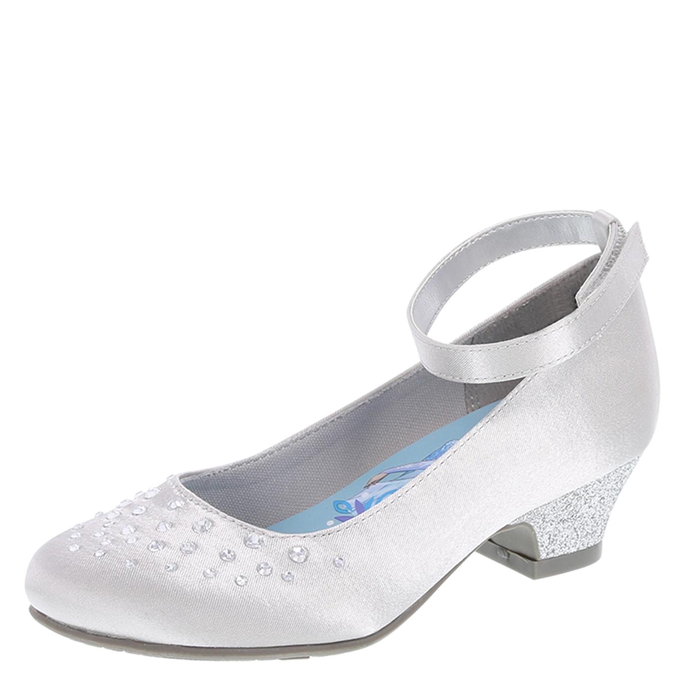 silver dress shoes girlsu0027 satin dress shoes, silver vmmuwbd