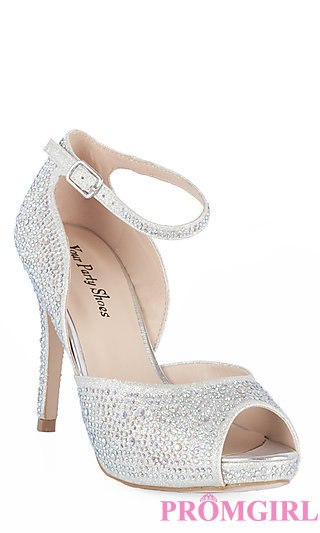 silver prom shoes prom dresses, plus-size dresses, prom shoes - promgirl: yp-706-reese ahfwswq