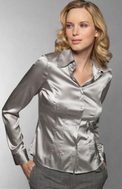 silver satin blouse | satin blouse | women in shirts | pinterest | kbxgvau