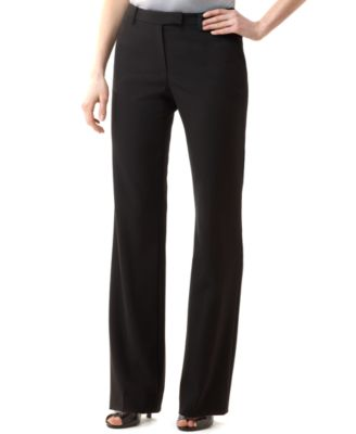 slacks for women calvin klein madison stretch dress pants fzjbtyd