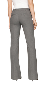 slacks for women mid-rise linen-blend pants for women - amalgam scqzdka