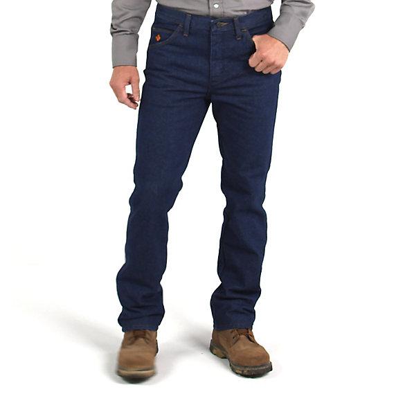 slim fit jeans wrangler® fr flame resistant slim fit jean uqvliby