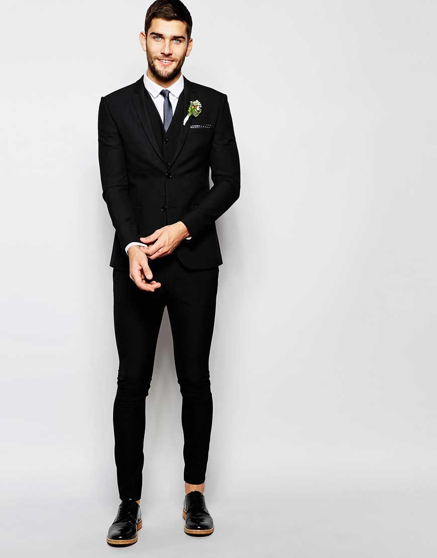 slim fit suit wedding super skinny fit suit in black nbsexta