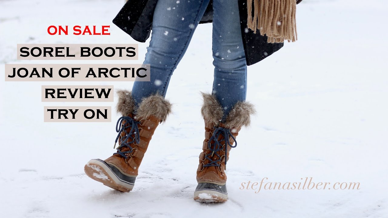 sorel joan of arctic boots - reveal and