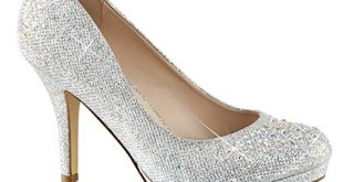 sparkly heels amazon.com | womens silver rhinestone shoes glitter pumps sparkly high heels  3 wdfxicv
