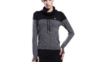 sports clothes women gym fitness exercise yoga jogging sports shirts long sleeve tops  running sqjmmir