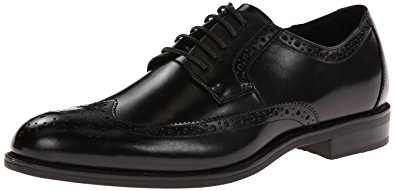 stacy adams shoes stacy adams menu0027s garrison wingtip oxford,black,10.5 ... yifatsm