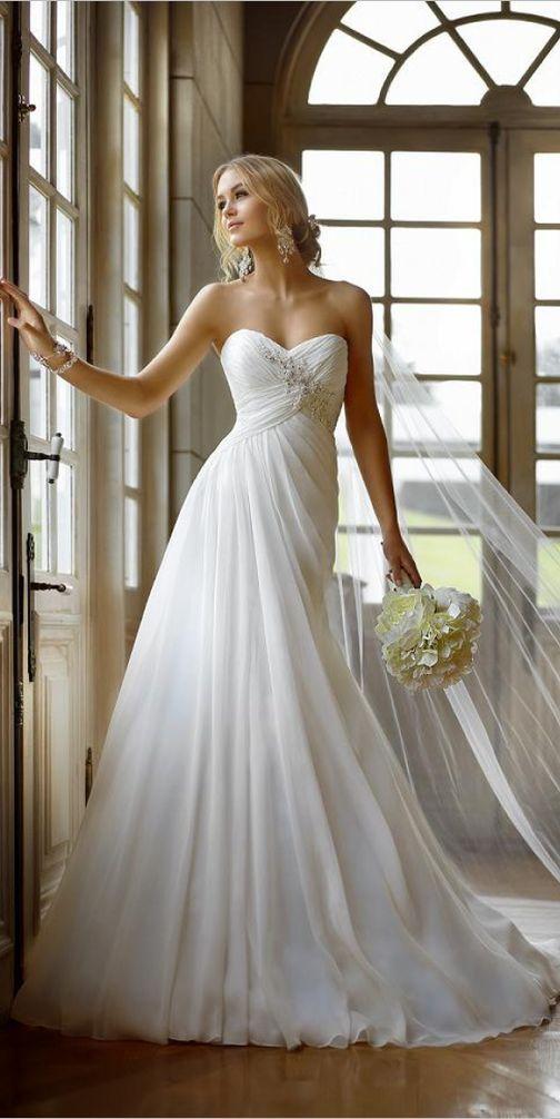 strapless wedding dresses 50 simple wedding dresses for you zaxjdjw