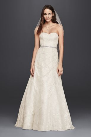 strapless wedding dresses long a-line country wedding dress - davidu0027s bridal collection jjyesud