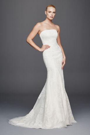 strapless wedding dresses long mermaid/ trumpet vintage wedding dress - truly zac posen ljbueww