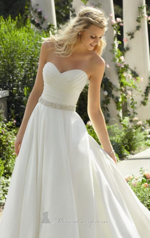 strapless wedding dresses simple dress- simple and romantic. this voyage by mori lee 6747 bridal gown ddmzmon